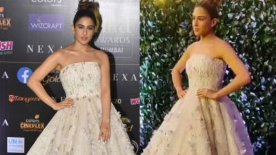IIFA 2019: Sara looks like a barbie doll in this dress, See video here