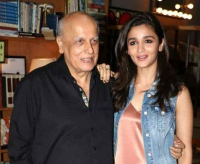 In this cute style, Alia wished her dad a special Birthday...