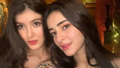 Sanjay's wife posted an old photo of Shanaya and Ananya; see pictures here