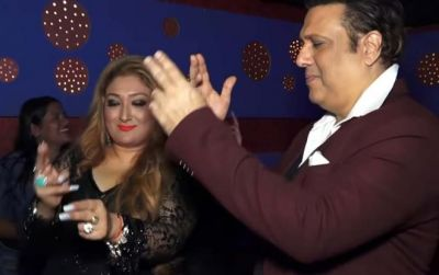 Superstar Govinda dances his heart out with wife Sunita, watch hilarious video here