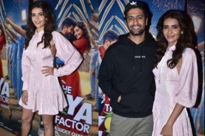 Karishma Tanna, Vicky Kaushal, and many other celebs attended The Zoya Factor Screening