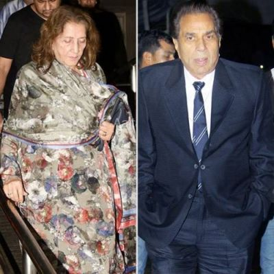 Dharmendra's first wife arrived to watch grandson's film, check out pics here