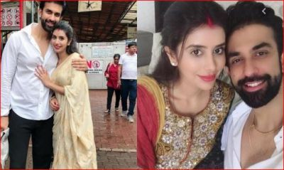 Rajiv Sen arrives at Siddhivinayak temple with wife, pictures go viral