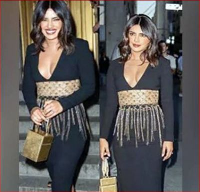 Hearing the price of this golden bag of Priyanka will blow your senses