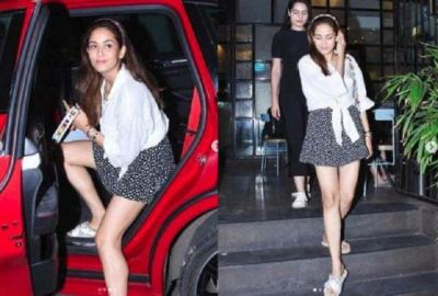 Shahid's wife Meera looking cool in mini skirt, see pictures