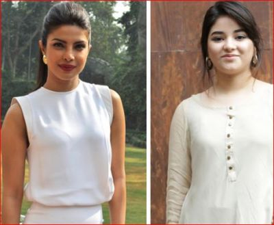 Priyanka Chopra said after Zaira Wasim left Bollywood, said- 'A great actress ...'