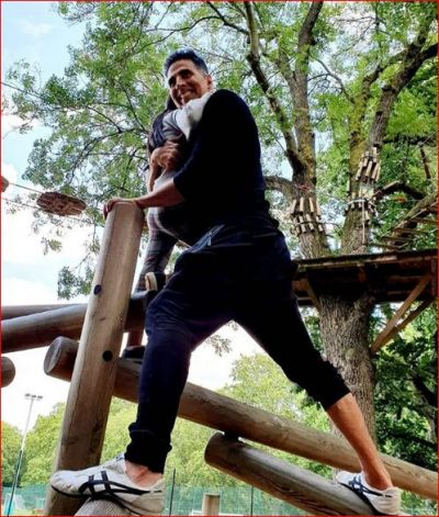 This is how Daddy Akshay Kumar wishes his daughter Nitara a happy birthday