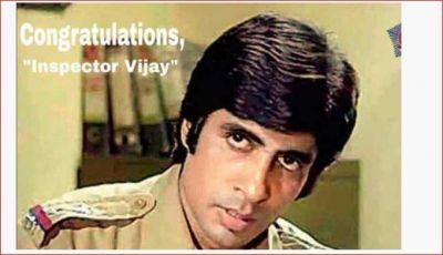 Mumbai Police congratulates Big B on receiving Dadasaheb Phalke Award, says, 'Badhai Ho Inspector Vijay ...'