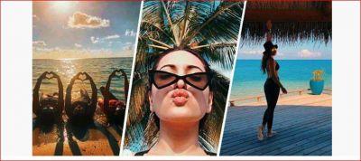 मालदीव में जमकर छुट्टियां बिता रहीं हैं सोनाक्षी सिन्हा, वायरल हुए फोटोज