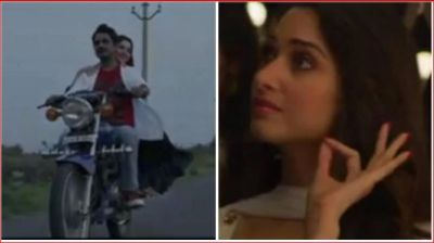 Nawazuddin Siddiqui seen romancing with Tamannaah Bhatia on a bike