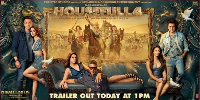 Housefull 4:  Trailer to release today at 1 pm, another poster revealed