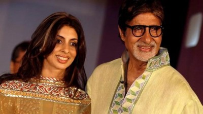 Amitabh Bachchan extends wishes to Shweta on Daughter's Day