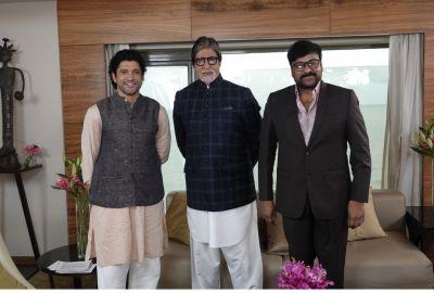 फरहान अख्तर ने सई रा नरसिम्हा रेड्डी के सह-कलाकार और दिग्गज अभिनेता अमिताभ बच्चन एवं चिरंजीवी के बीच एक विशेष पैनल की मेजबानी की!