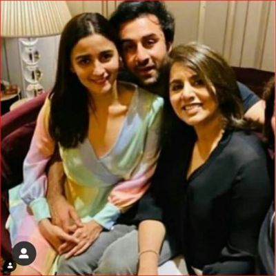 Ranbir celebrated his birthday, Alia was seen sitting on his lap