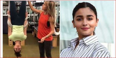 Alia Bhatt's backflip video goes viral, check it out here