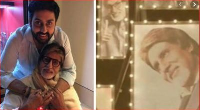 Abhishek shares video giving tribute to father Amitabh Bachchan