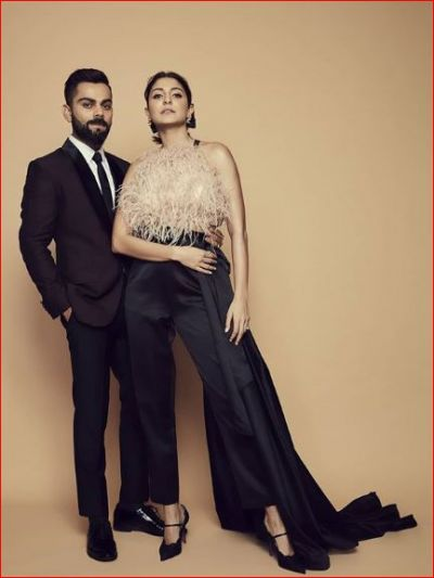 Anushka became romantic with husband Virat, shared photos of her new photoshoot