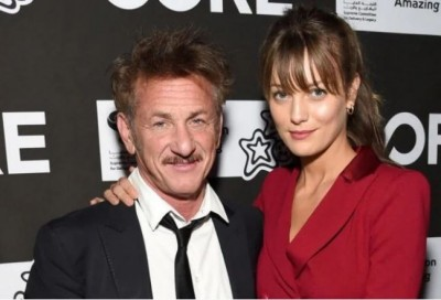 59 year old hollywood actor sean penn married 28 year old lila george sc88 nu870 ta870