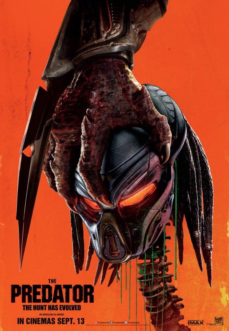 हॉरर फिल्म 'The Predator' का खौफनाक पोस्टर हुआ रिलीज़