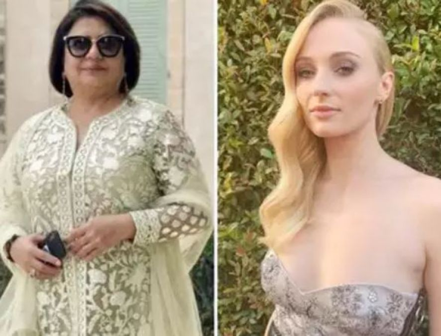 Sophie Turner danced Fiercely along with Priyanka's Mom, Watch Video!