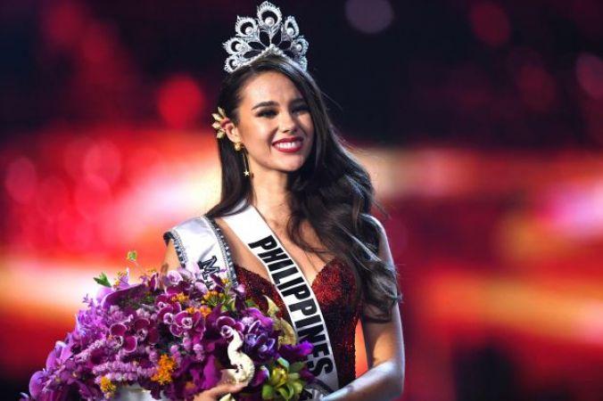 फिलीपीन्स की इस सुंदरी ने पहना मिस यूनिवर्स 2018 का ताज