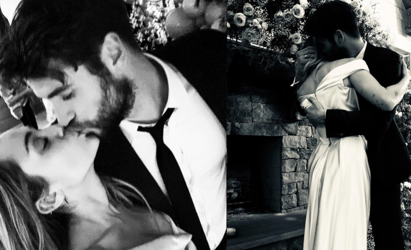 माइली सायरस और लैम हेम्सवर्थ ने गुपचुप तैरके से कर ली शादी