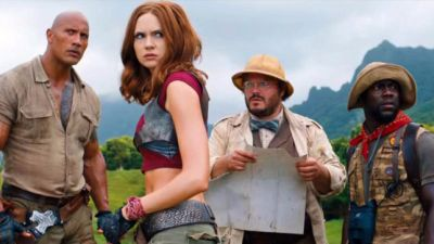 Jumanji The Next Level Trailer:  Rock Seen In A Powerful Look, trailer to release on this day
