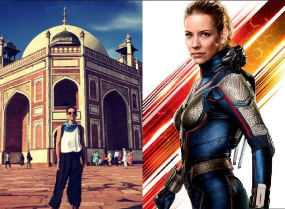 This actress of Aint Man And The Wasp Arrives India, Shares