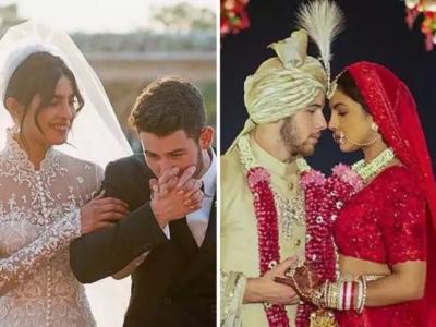 शादी में प्रियंका के ऐसे लुक को देखते ही रो पड़े थे निक जोनस