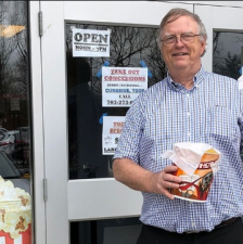 Theater owner sells popcorn to pay salaries to employees