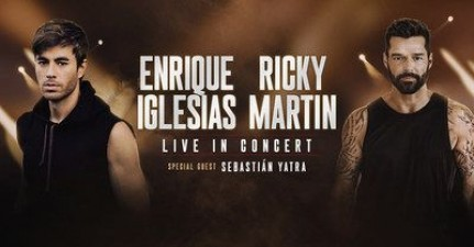 Enrique and Ricky will be seen together for music tour