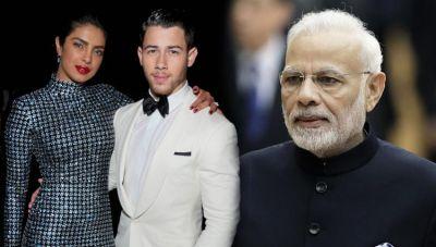 भारत पहुंची निक की बारात, मंगेतर संग पीएम मोदी को शादी का निमंत्रण देने जाएंगी प्रियंका