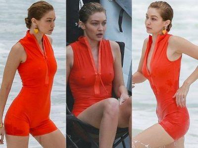 इस मॉडल ने बिना अंडरगार्मेंट्स पहने ही समुद्र में दिखाया अपना किलर फिगर