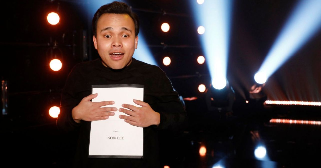 This blind 22-year-old contestant won the title of America's Got Talent