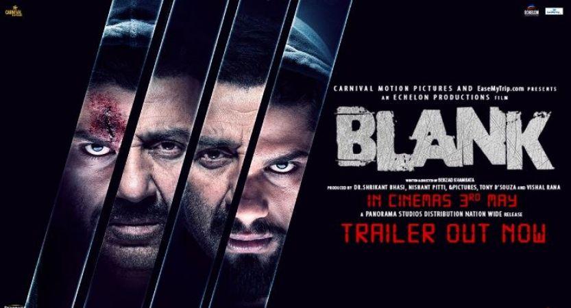Blank Trailer : आतंकवादी के रूप में नज़र आये करण कपाडिया, देखें वीडियो
