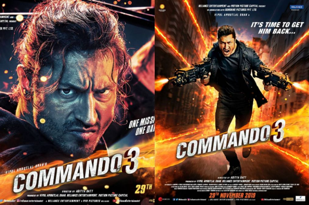 On the third day of release, Commando-3 created a rage at the box office