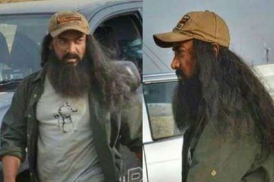 Aamir Khan looks completely different in the character in 'Lal Singh Chadha', see it here