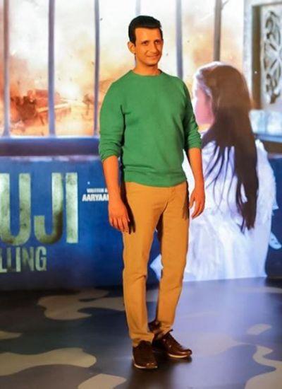 Motion poster of Sharman Joshi's upcoming film 'Fauji Calling' released