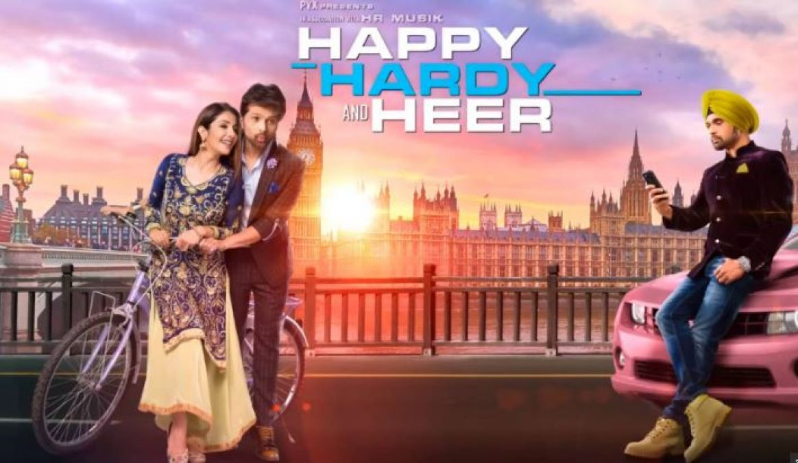 Happy Hardy and Heer: Motion Poster of the upcoming film of Himesh Reshammiya released