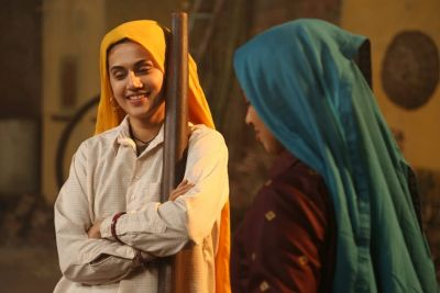 Saand Ki Aankh Teaser: Tapsi & Bhumi are seen in a powerful look, See Teaser!