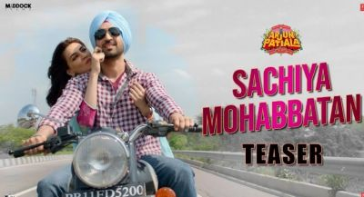Arjun Patiala Song: The chemistry of the Kriti-Diljit, shown in the new song 'Sachchi Mohhabatan'.