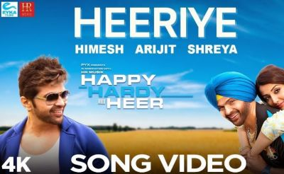 Heeriye: Happy Hardy & Heer's Romantic Song Released