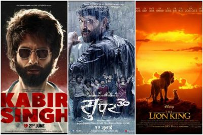 Collection: Kabir Singh along with 'The Lion King' and 'Super 30' also making a bang!