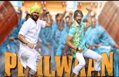 Pehalwaan: Sunil Shetty and Kichcha Sudip filmed on song Jai Ho releases!