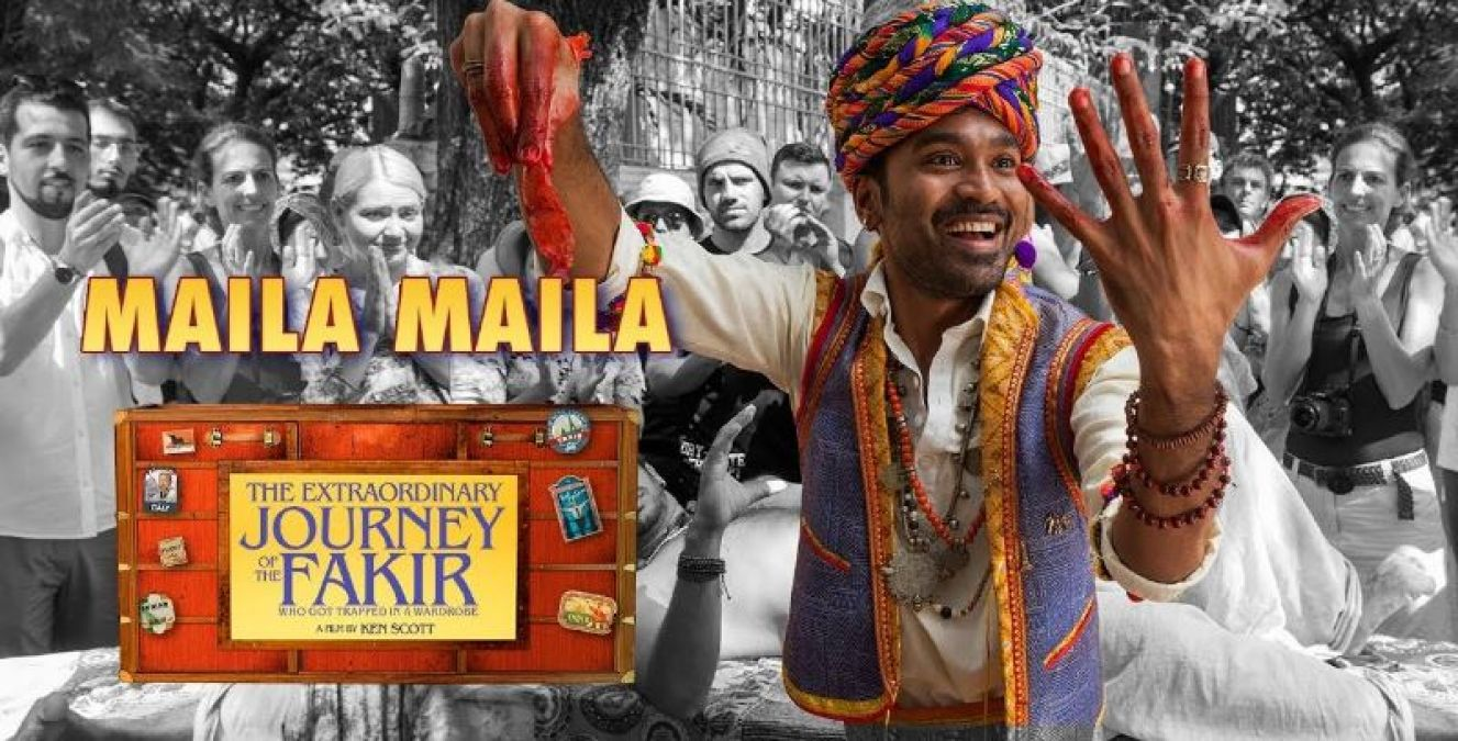 Maila-Maila: Different style of Dhanush shown in the new song of 'The Extra Ordinary Journey.'