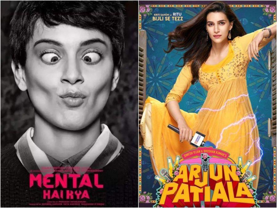 Movie Clash: Kangana's 'Mental Hai Kya' to clash with Kriti Sanon's 'Arjun Patiala'!
