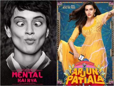Movie Clash: Kangana's 'Mental Hai Kya' to clash with Kriti Sanon's 'Arjun Patiala'!