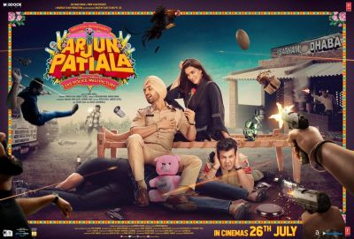Arjun Patiala Trailer: Funny chemistry of Diljit-Kriti compels you to laugh!