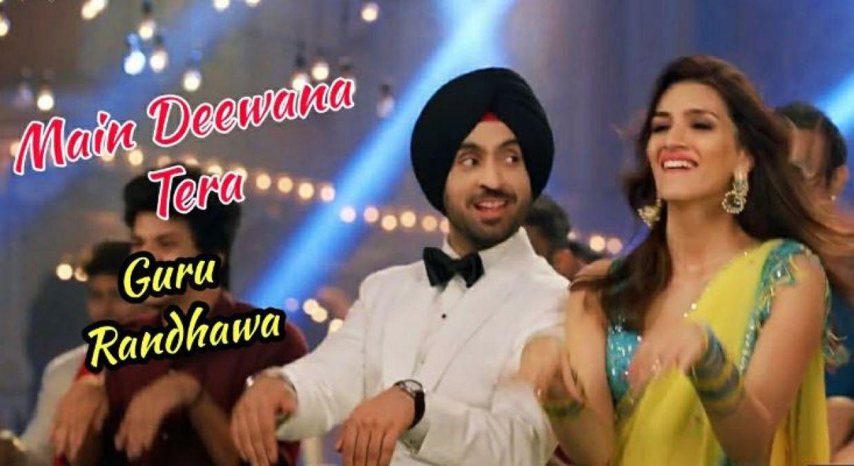 Arjun Patiala Song : 'मैं दीवाना तेरा' में दिखा कृति का हॉट साड़ी अवतार
