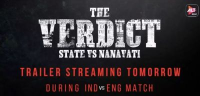The Teaser of the web show The Verdict State Vs Nanavati releases